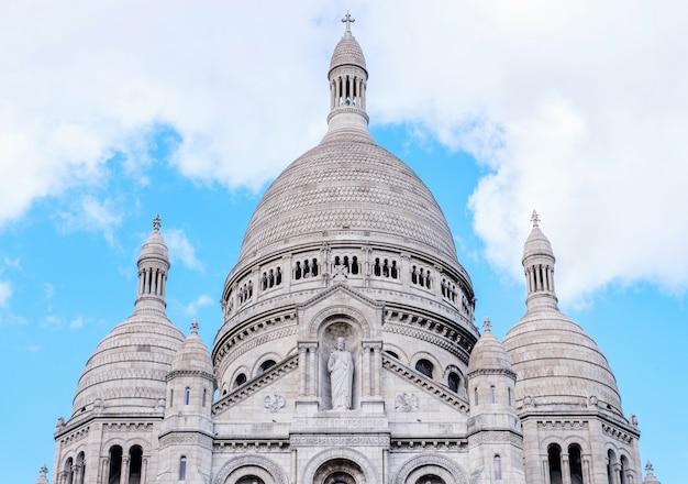 Bazylika sacre coeur w paryżu Premium Zdjęcia