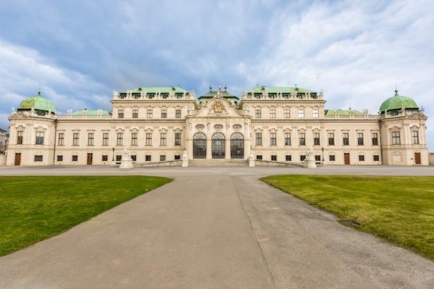 Belweder w wien, austria Premium Zdjęcia