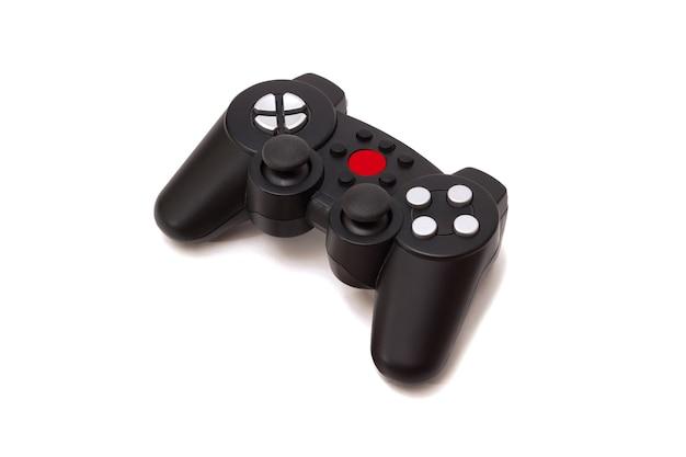 Bezprzewodowy Gamepad Z Konsoli Do Gier Na Białym Tle Premium Zdjęcia