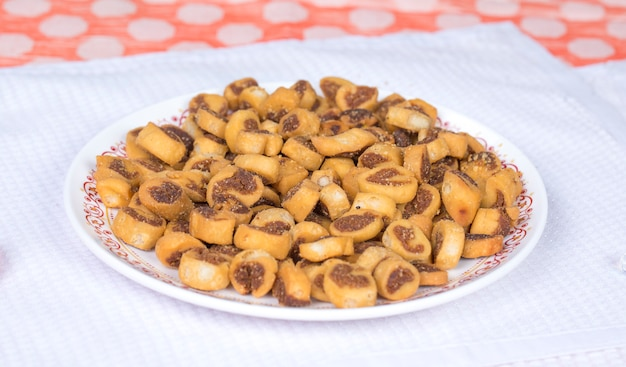 Bhakarwadi food Premium Zdjęcia
