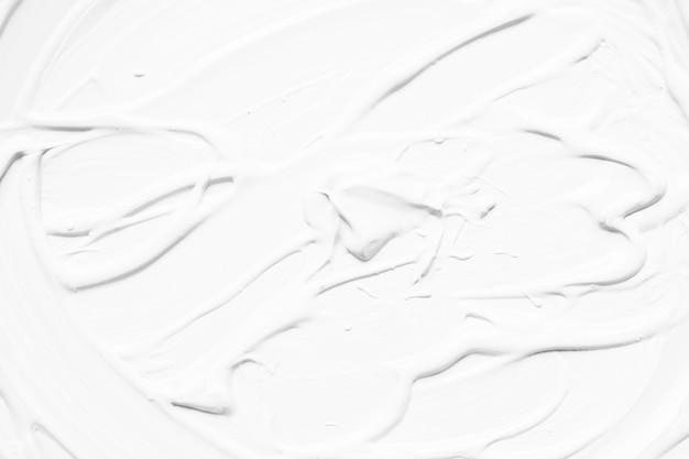 Biała Abstrakcjonistyczna Farba W Uderzeniach Darmowe Zdjęcia