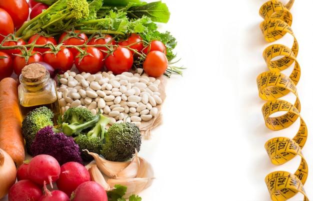 Biała Fasola Z Warzywami Premium Zdjęcia