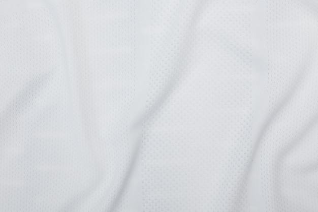 Biała tkanina tekstura, tło wzór tkaniny. Premium Zdjęcia