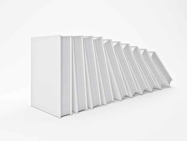 Białe książki Premium Zdjęcia