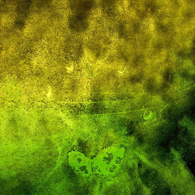 Biało-zielony proszek w kolorze holi Darmowe Zdjęcia