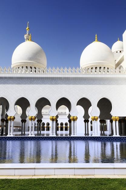 Biały Meczet Premium Zdjęcia