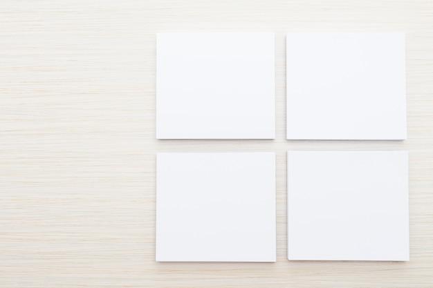 Biały papier makiety Darmowe Zdjęcia