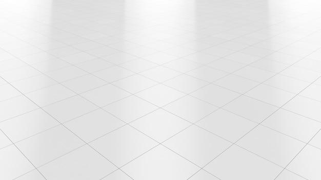 Biały Podłogowy Marmurowy Czysty Ceramiczny Płytki Tło Premium Zdjęcia