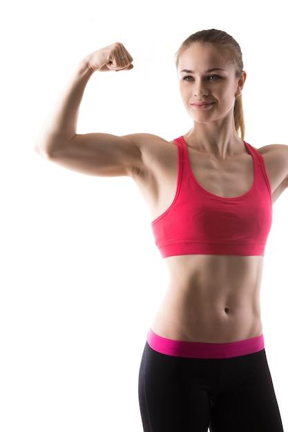 Bicepsy dydaktyczne kobieta Darmowe Zdjęcia