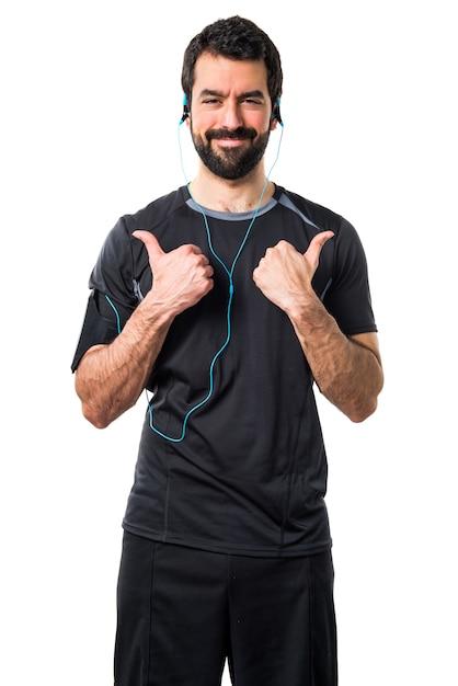 Biegacz muzyki palec sport slim Darmowe Zdjęcia