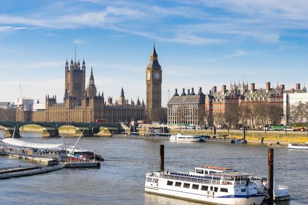 Big ben, londyn, anglia Premium Zdjęcia