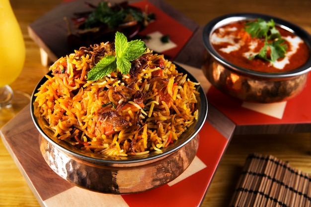 Biryani Indian Meal Premium Zdjęcia