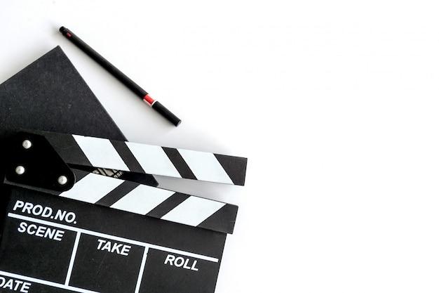 Biurko dyrektora filmowego Premium Zdjęcia