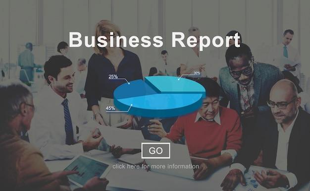 Biznesowy raport analityka analizy statystyki pojęcie Darmowe Zdjęcia