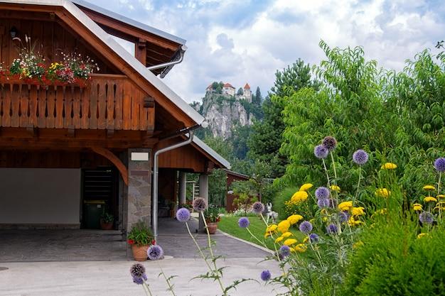 Bled, Słowenia, Architektura Europejskich Miast. Premium Zdjęcia