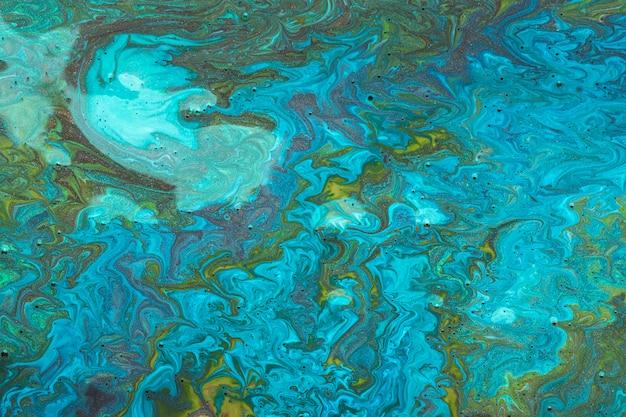Błękitna akrylowa sztuka współczesna Darmowe Zdjęcia