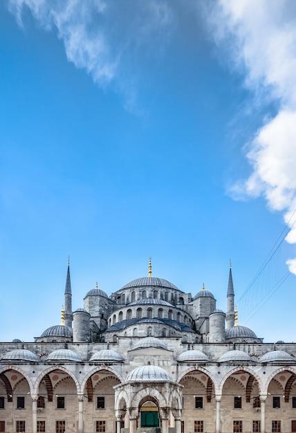 Błękitny Meczet W Stambule Premium Zdjęcia