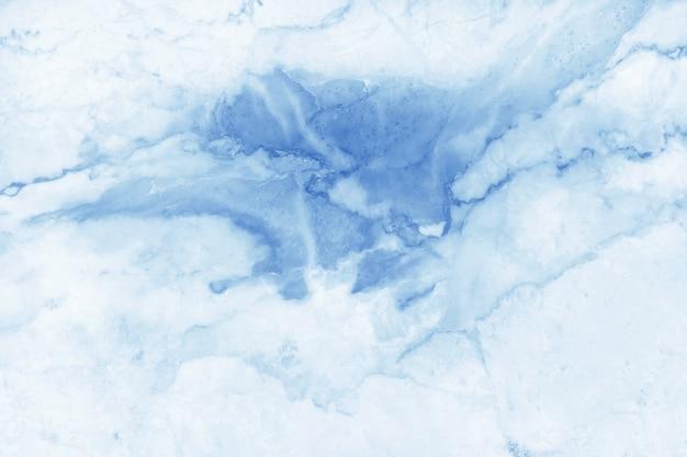 Błękitny Pastelu Marmuru Tekstury Tło W Naturalnym Wzorze Premium Zdjęcia