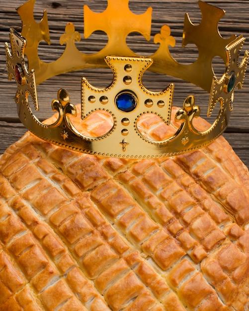 Bliska Deser Pyszne Ciasto Objawienia Premium Zdjęcia