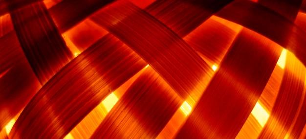 Bliska Podświetlane Bambusowe Tło Darmowe Zdjęcia