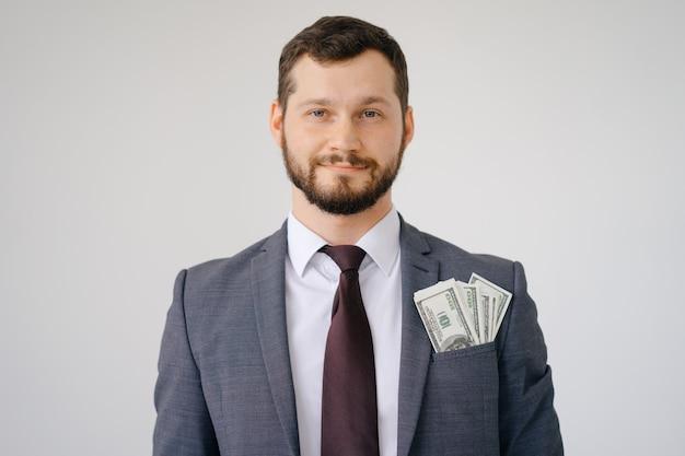 Bogaty, Szefowy Facet Premium Zdjęcia