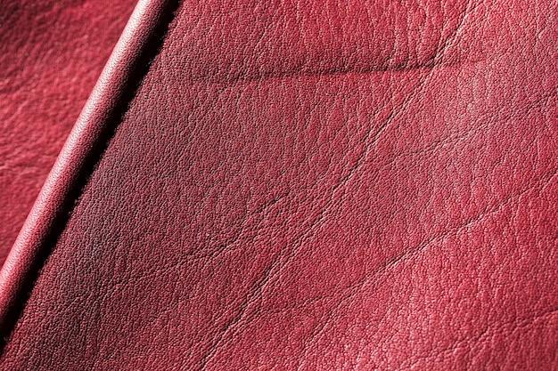 Bordowa Czerwona Skóra Tekstury Tła Powierzchni Darmowe Zdjęcia