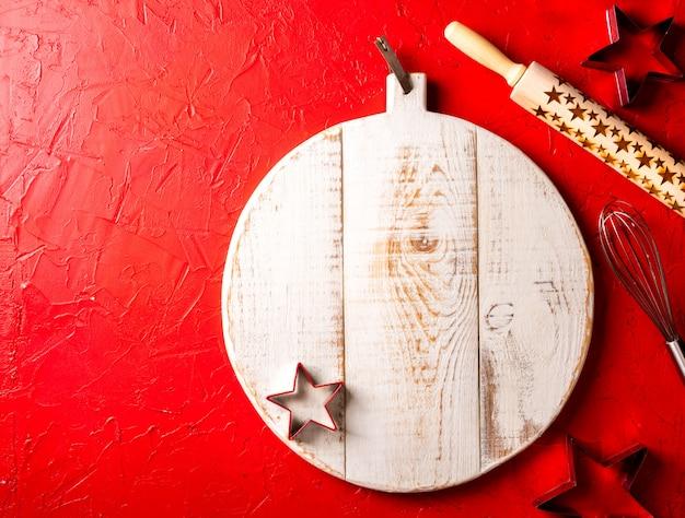 Boże Narodzenie Do Pieczenia Tło. Premium Zdjęcia