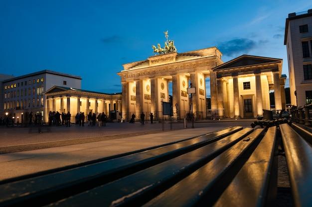 Brama brandenburska, berlin Premium Zdjęcia