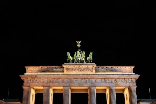 Bramy Brandenburskie W Berlinie, Niemcy Premium Zdjęcia