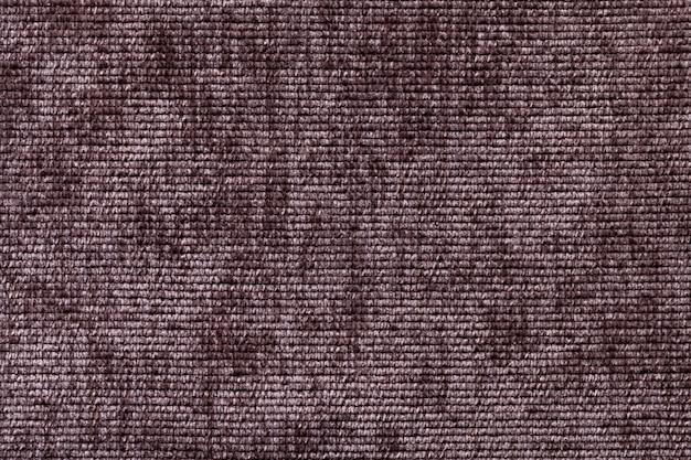 Brązowe tło z miękkiego materiału tekstylnego. Premium Zdjęcia
