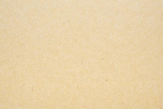 Brązowy Papier Z Recyklingu Kraft Arkusz Tekstury Tektury Premium Zdjęcia