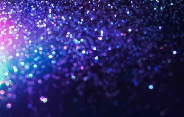 Brokat efekt świetlny bokeh colorfull niewyraźne tło Premium Zdjęcia