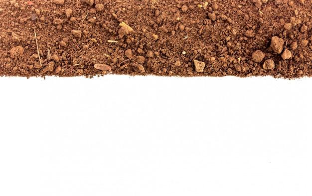 Brudna Ziemia Naturalna Tekstura Gleby Premium Zdjęcia