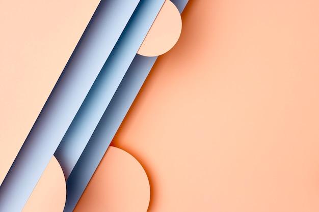 Brzoskwinia I Niebieskie Tło Papiery Premium Zdjęcia