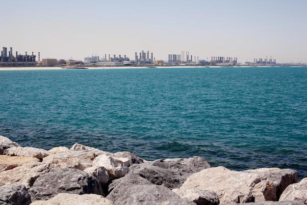 Budowa Wieżowców W Dubaju Premium Zdjęcia