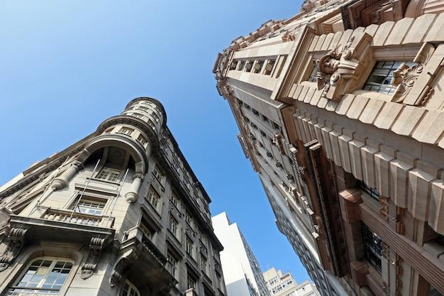 Budynek dawnego dworu stanu sao paulo Premium Zdjęcia