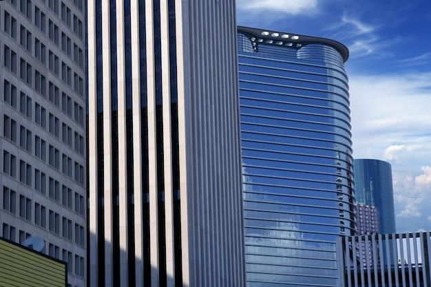 Budynków Miasta W Centrum Houston W Teksasie Premium Zdjęcia