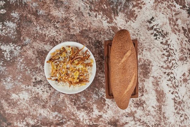 Bułka Z Marmuru Z Dodatkiem Ryżu. Darmowe Zdjęcia