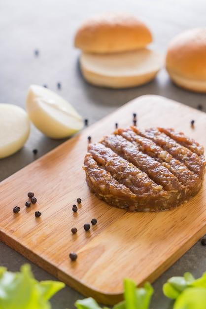 Burger Składników Darmowe Zdjęcia