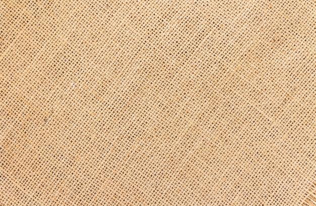 Burlap Tło I Tekstura Premium Zdjęcia