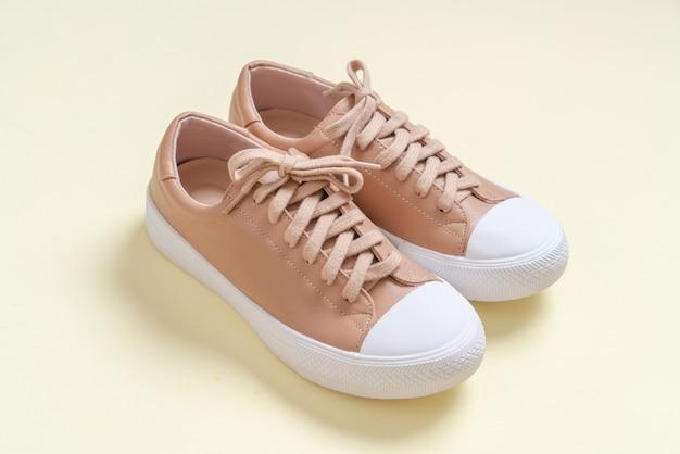 buty skórzane damskie sneakersy Premium Zdjęcia