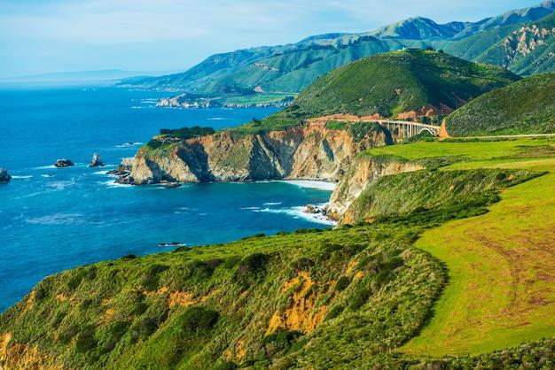 California Coastal Highway 1 Darmowe Zdjęcia