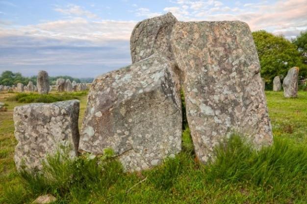 Carnac Stones Hdr Darmowe Zdjęcia