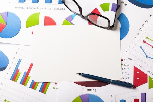 Chart, business Premium Zdjęcia