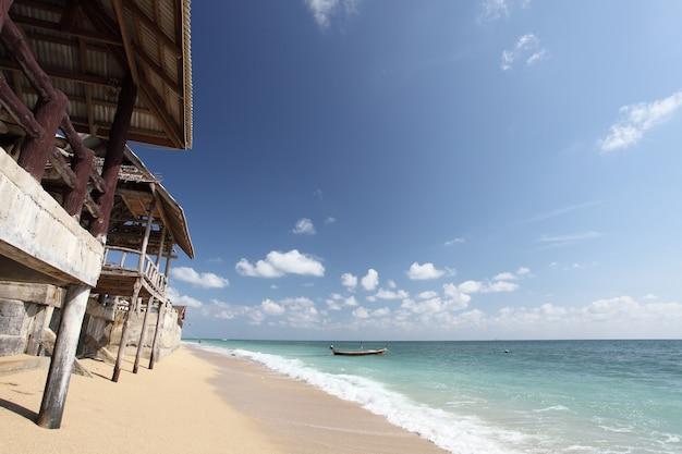 Chata Z Plażą Premium Zdjęcia