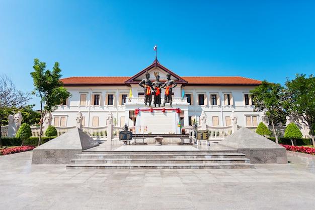 Chiang mai city arts museum w tajlandii Premium Zdjęcia