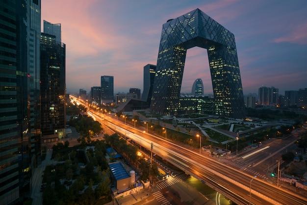 Chiny pekin city, słynny punkt orientacyjny, chiny Premium Zdjęcia