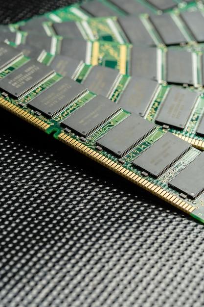 Chip Komputerowy, Technologia I Przemysł Elektroniczny Premium Zdjęcia