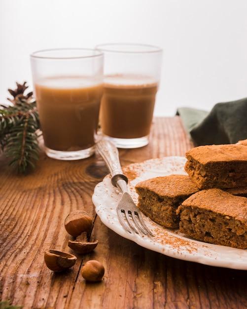 Ciasteczka Czekoladowe I Kawa Darmowe Zdjęcia