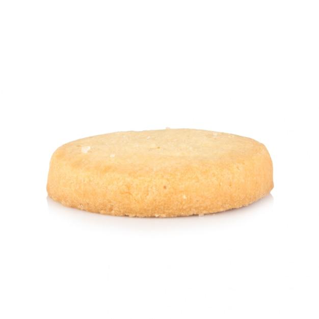 Ciastka Pojedynczy Odizolowywający Na Bielu Premium Zdjęcia